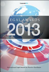 2013 Corporate Intl Legal Awards